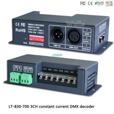 LTECH led RGB Controller LT-830-7