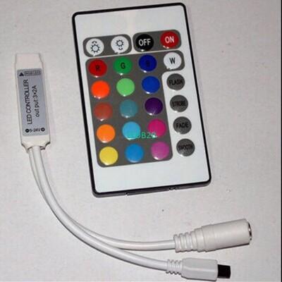 5-24V Mini 24key RGB LED Controll