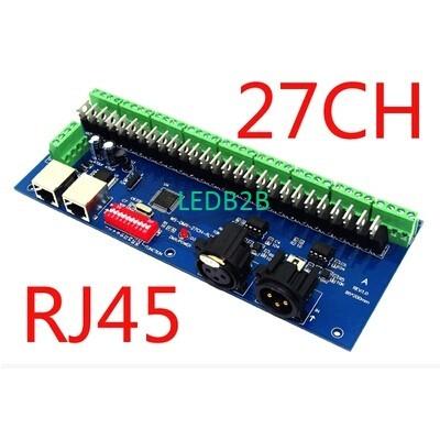 Host sell 27CH dmx512 decoder,27