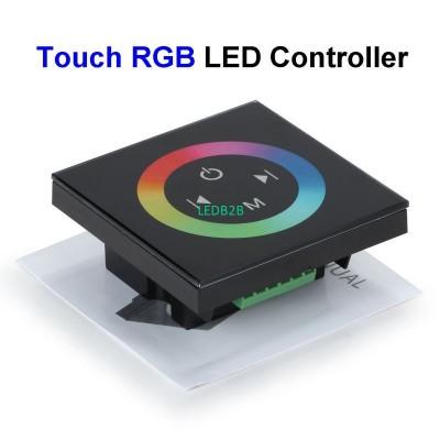 3pcs 12V 12A LED RGB Touch Panel
