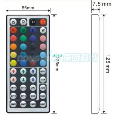 Hot Sale 44 Key Mini IR Remote Co