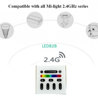 2.4G Mi Light LED Controller RGBW
