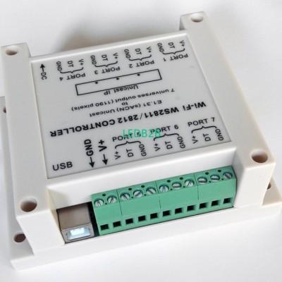 Wireless WiFi WS2811 / WS2812 (DC
