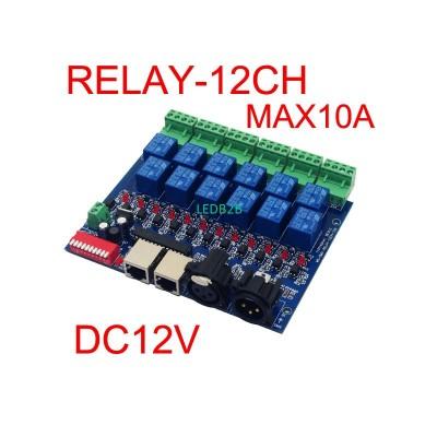 12CH Relay switch dmx512 Controll