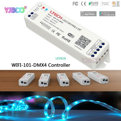 LTECH 2.4G led Wifi to DMX512 Con