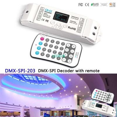 DMX-SPI-203;with remote led DMX t