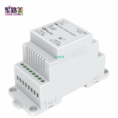 DIN Rail DMX 512 Signal Amplifier