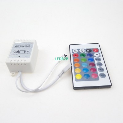 24 Keys 12 Volts IR Remote Contro