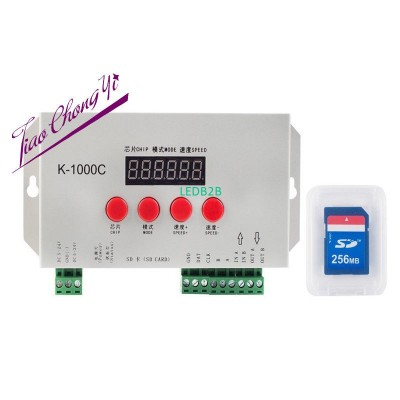 K-1000C updated WS2812B APA102C S