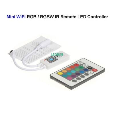 DC12V Mini WiFi RGB / RGBW LED Co