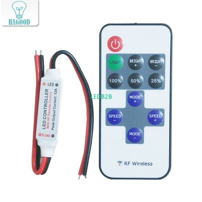 Hot Sale! LED Remote Dimmer Contr