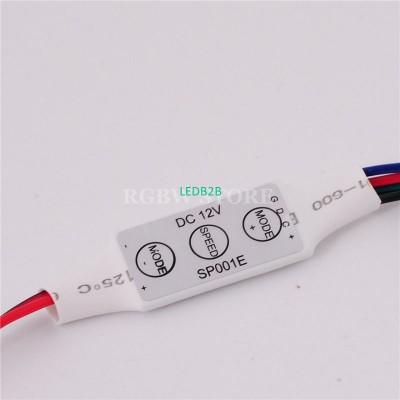 DC12V 3key RGB Led Mini controlle