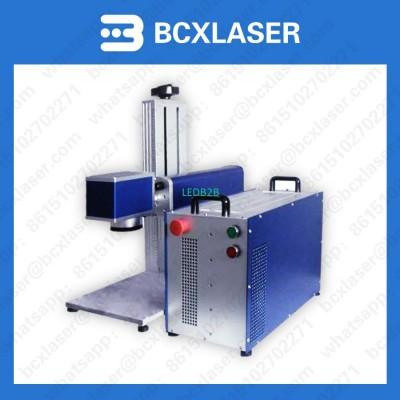 20W MOPA color fiber laser markin