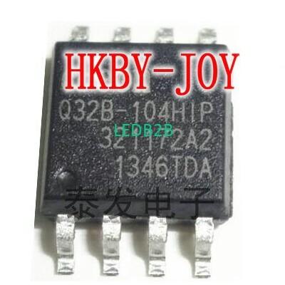 10pcs/lot EN25Q32B-104HIP SOP8 Q3
