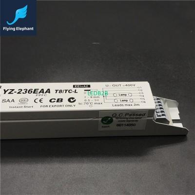 3AAA YZ-236EAA 220-240V 2x36W 2x4