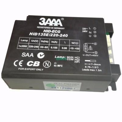 3AAA HID 135E/220-240 36W Profess