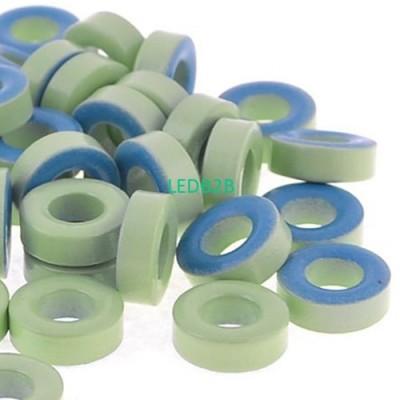 50Pcs Pale Green Blue Iron Core P
