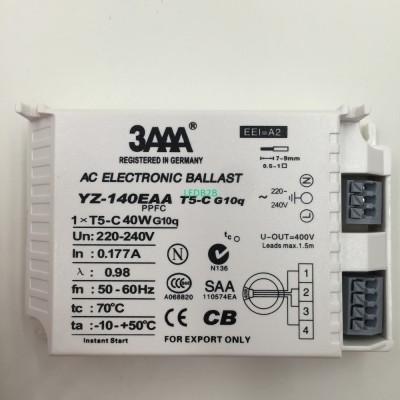 YZ140EAA-T5-C 40W AC Electronic B