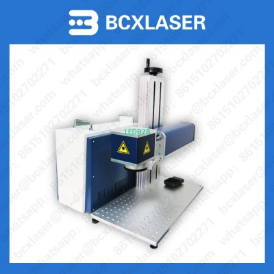 Laser marking machine with ipg or