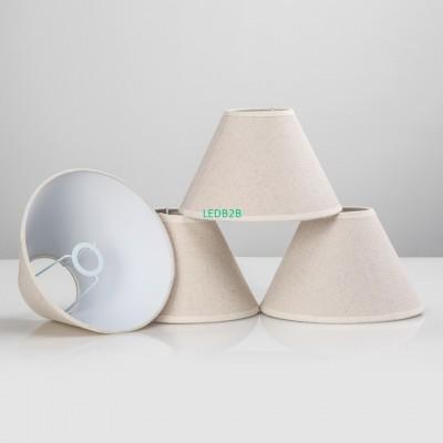 E14 E12 handmade linen lamp shade