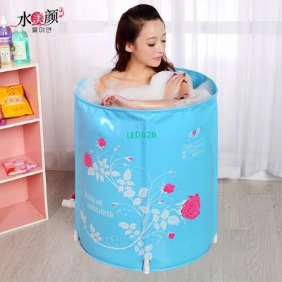 Water beauty folding tub bath buc