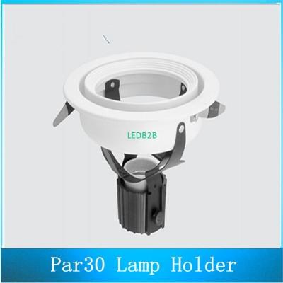 PAR30 Lamp Housing E27 Holder Spo