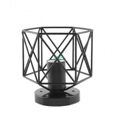 Vintage Retro Iron Cage Lampshade