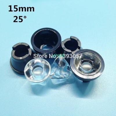 100set/lot, LED lens 15mm concave