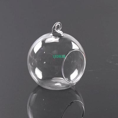 Abajur Clear Stylish Glass Round
