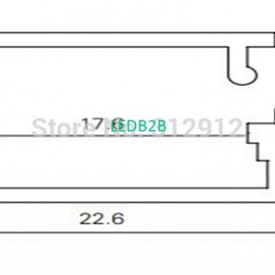 RA-2309;1M long aluminum alloy pr