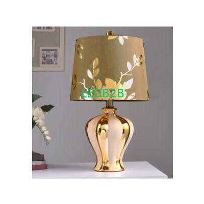 Ceramic lamp. Bedroom bedside lam