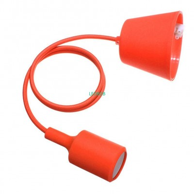 Practical-Orange Silicone E27 Soc