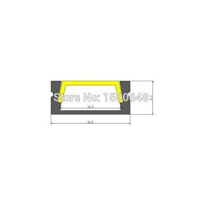 15pcs/lot LED Aluminum profil 16*