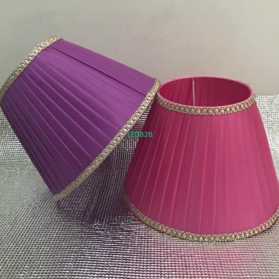 pink /purple E27 Desk Lamp Lampsh