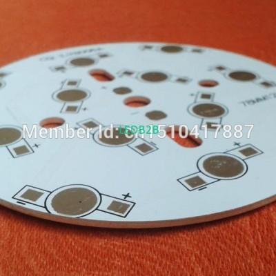 15pcs/lot 12W LED PCB, 78mm for 1