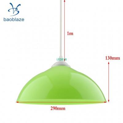 6pcs Semi-circular Lamp Shade wit