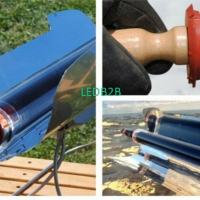 Solar portable barbecue stove out