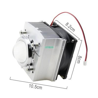 DC12V 0.2A Aluminium Heatsink Coo