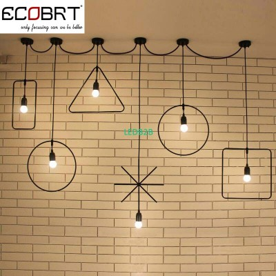 ECOBRT Retro Vintage Loft Pendant