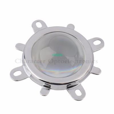 10Set 44mm Glass LED Lens 60 Degr