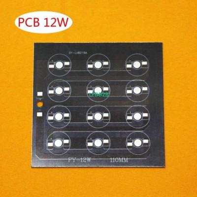 1 pcs, 12W LED PCB, high power LE