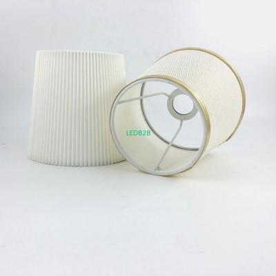 2pcs DIA 15.5cm Gold white color