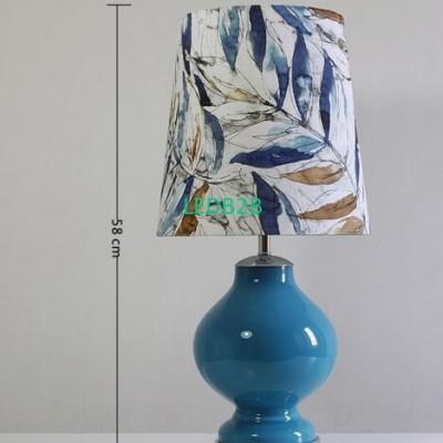 Blue glass. American decorative b