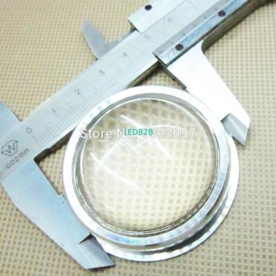 2 set 44mm LED Glass Lens + Screw