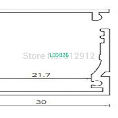RA-3028;1M long aluminum alloy pr