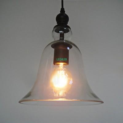 E27 Industrial Bell Glass Lamp Sh
