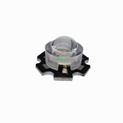 100 pcs/lot 13mm LED mini Lens 45
