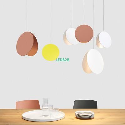 Modern Pendant Light Globe Iron L