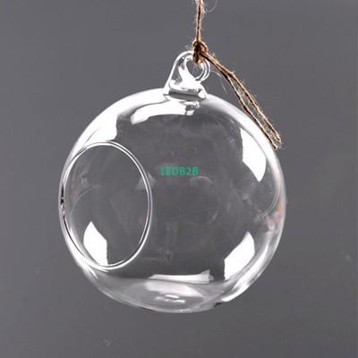 Clear Stylish Glass Round Hanging