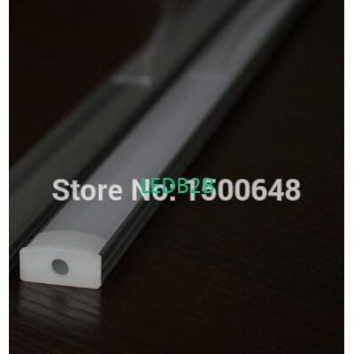 6pcs/lot LED aluminum profiles fo